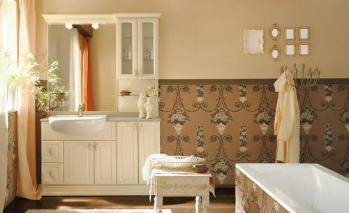 Bagno classico varie colorazioni lavabo ceramica mod perla - Bagno perla ravenna ...