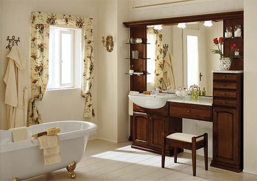 bagno classico - varie colorazioni - lavabo ceramica mod ravenna - Arredo Bagno Ravenna