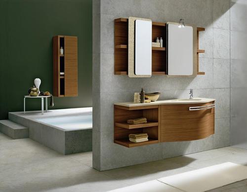 Bagno Moderno Varie Colorazioni Lavabo Ceramica