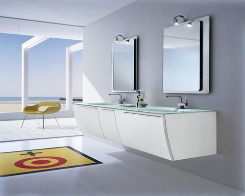 Bagno moderno   varie colorazioni   lavabo ceramica ...