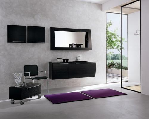 Armadi da camera sospesi design casa creativa e mobili - Bagno in camera moderno ...
