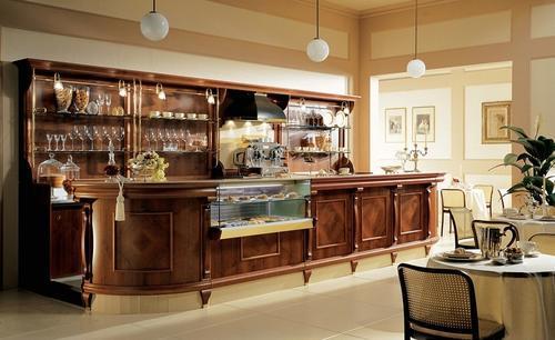 Produzione hotel banchi bar banchi negozi di qualit for Arredi bar moderni