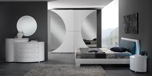 Camere moderne cristalli pianca presotto fimar for Camere da letto moderne economiche
