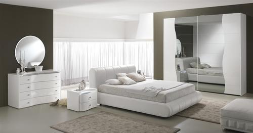 Camera Da Letto Moderne Bianche ~ Ispirazione Per La Casa