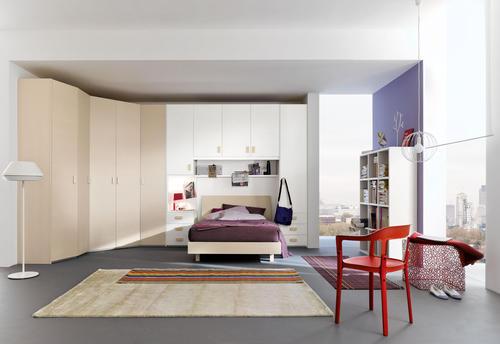 Camere moderne cristalli pianca presotto fimar for Camere da letto singole moderne