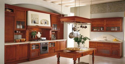 Cucine classiche anta in legno noce rovere - Cucine ciliegio moderne ...