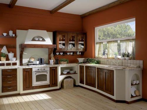 Cucine classiche anta in legno noce rovere - Cucine bellissime classiche ...