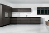 Cucine moderne laccate lucide opache laminato offerte design impiallacciate - Cucine nere lucide ...