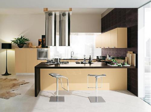 Cucine Moderne Colore Viola ~ Idee Creative di Interni e Mobili