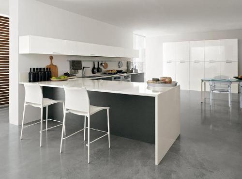 Cucine Moderne » Cucine Moderne Bianche Opache - Ispirazioni Design dell...