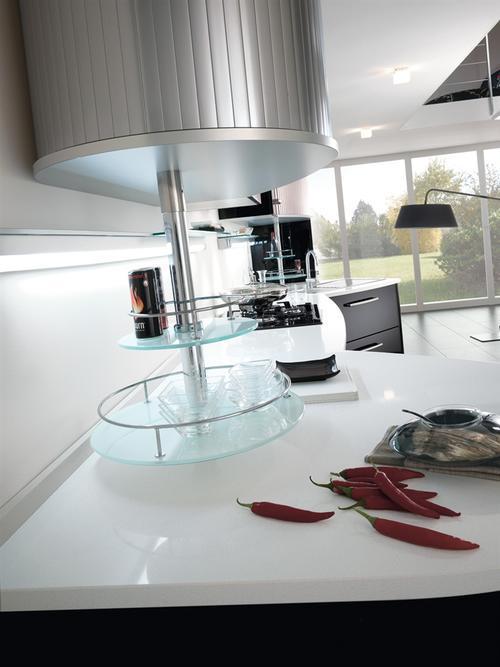 Casa di campagna cucine laccate lucide - Cucine bianche lucide ...