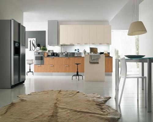 Cucine In Ciliegio Moderne. Esszimmer Cucina Scic Legno Ciliegio ...