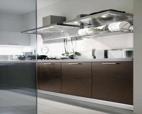 Cucine Moderne Wenge E Bianco : cucine moderne - laccate - lucide ...