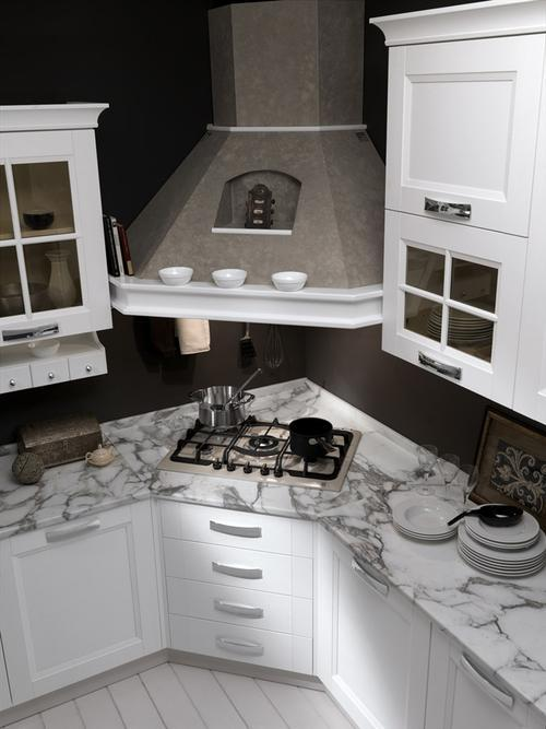 Cucine moderne laccate lucide opache laminato offerte design impiallacciate - Cucine angolari piccole dimensioni ...