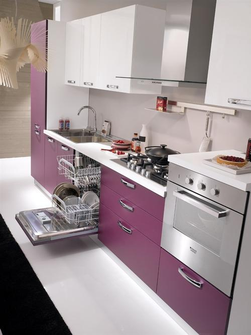 Cucine Moderne » Cucine Moderne Laccate Lucide Bianche - Ispirazioni Design dell'architettura ...