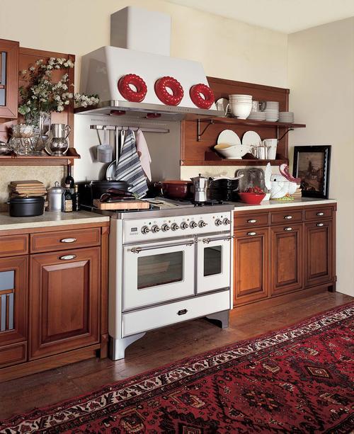 cucine rustiche - in yellow pine - pino abete - finta muratura ...