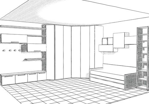 disegno esclusivo - progettazione di interni - arredamenti a misura ...