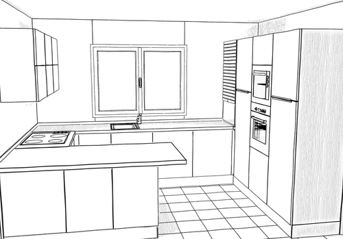 disegno esclusivo - progettazione di interni - arredamenti a misura - sviluppo in pianta ...
