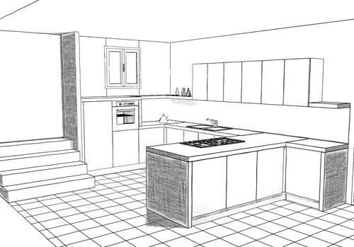 Beautiful disegno due cucine contemporary ideas design for Disegni da cucina enormi