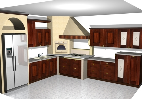 Progetto cucina in muratura moderna best foto cucine in muratura moderne progetto with foto - Cucine in muratura colorate ...
