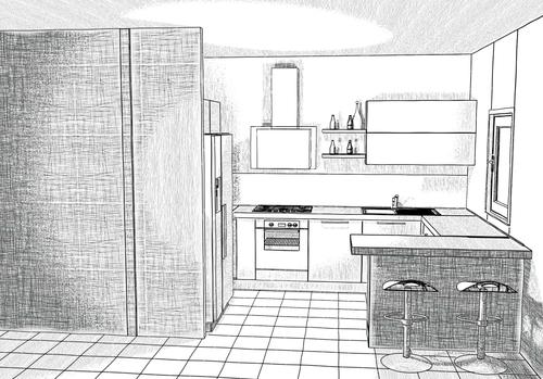 Disegno esclusivo progettazione di interni arredamenti for Disegni di interni