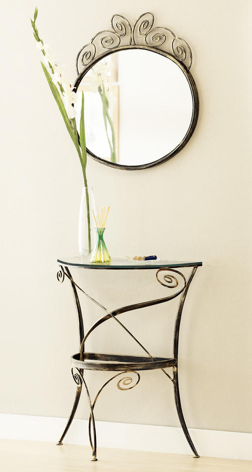 Ingressi classici primavera riflessi specchio for Specchio da terra ferro battuto