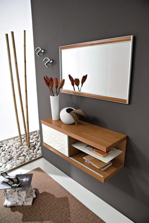 Ingressi moderni primavera riflessi specchio for Arredo ingresso moderno