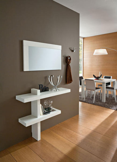 Ingressi moderni primavera riflessi specchio for Ingressi moderni calligaris
