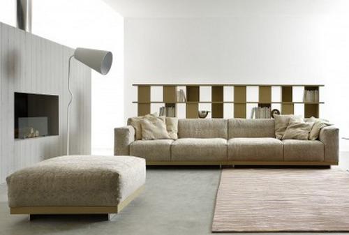 divani e salotti moderni - imbottiti - Doimo - Piombini - in legno ...