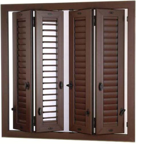 serramenti persiane - in legno - alluminio - pvc - ottime finiture - doppie guarnizioni ...