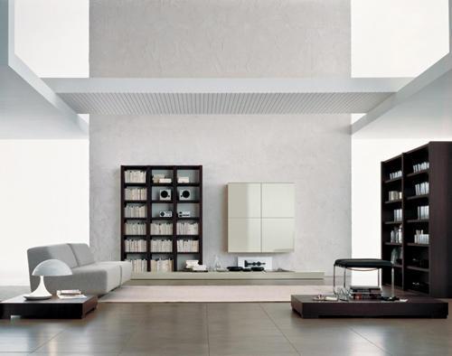 Parete Attrezzata Design Moderno Kreo.Soggiorni Classici Imitazioni In Stile Le Fablier Ciliegio