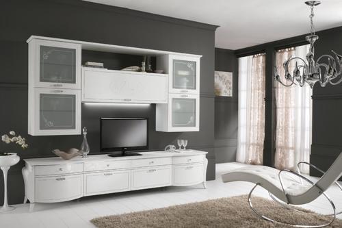 Soggiorni moderni caccaro weng laccato ciliegio for Regalbox soggiorno di charme